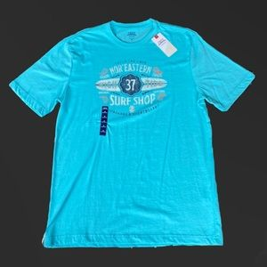 IZOD Saltwater Short Sleeve Blue Radiance Medium